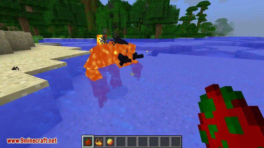 Magma Monsters Mod 3