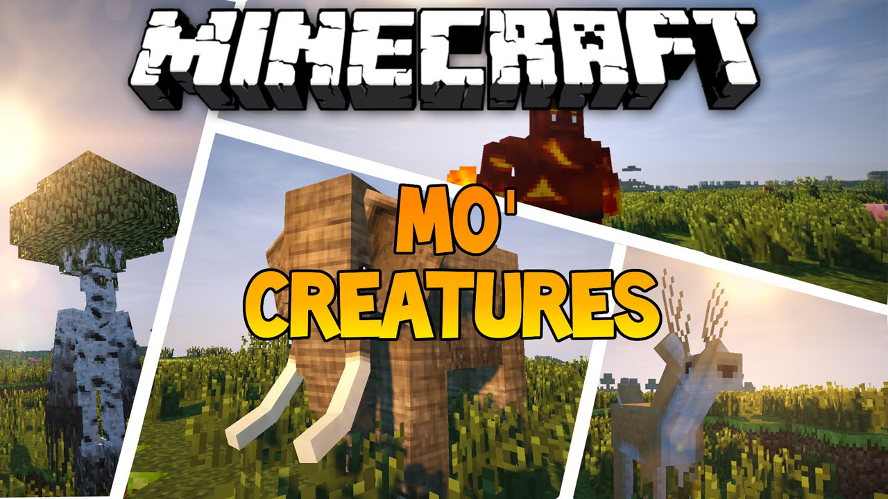 Mo'Creatures Mod 1 12 2/1 10 2 (Animals, Monster Mobs