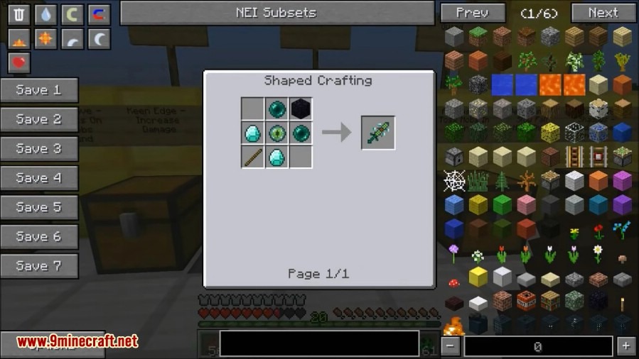 More Swords Mod Crafting Recipes 5