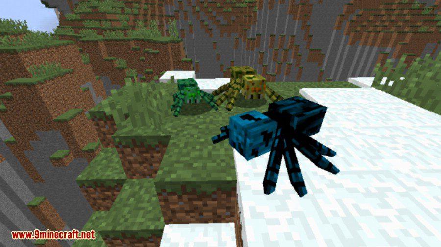 Much More Spiders Reborn Mod 2