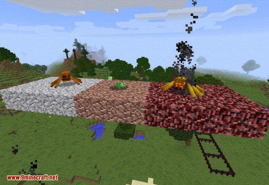 Much More Spiders Reborn Mod 6