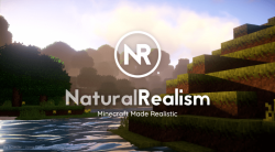 Natural Realism Resource Pack for Minecraft Logo