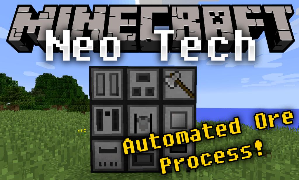 Neo Tech mod for minecraft logo