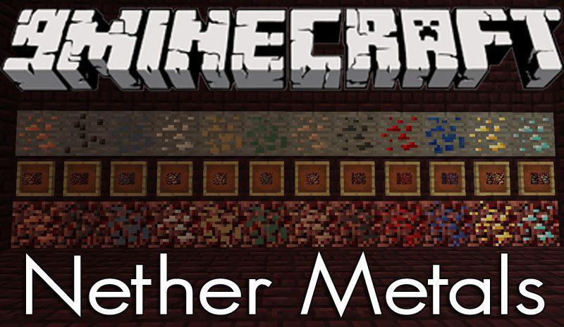 Nether Metals Mod