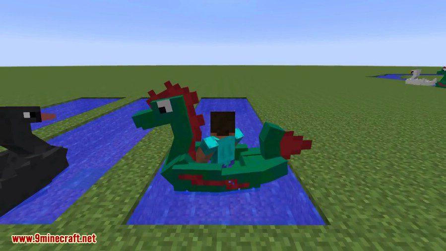 Paddle Boats Mod 7