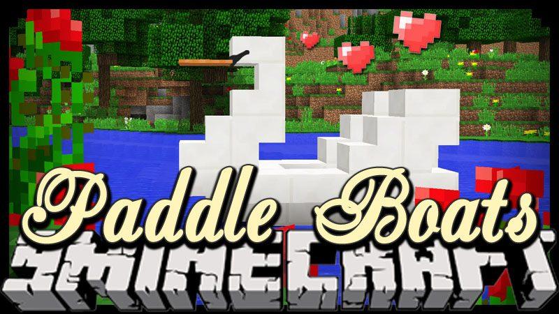 Paddle Boats Mod