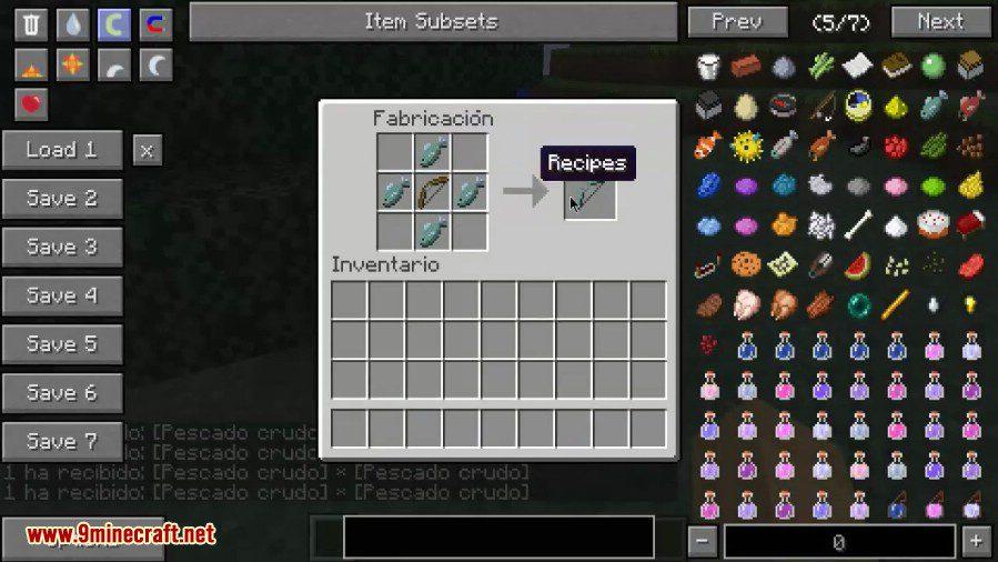 Pescado Mod 8