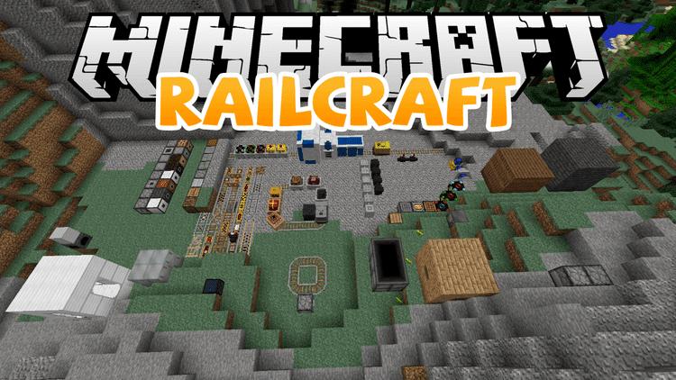 Railcraft Mod