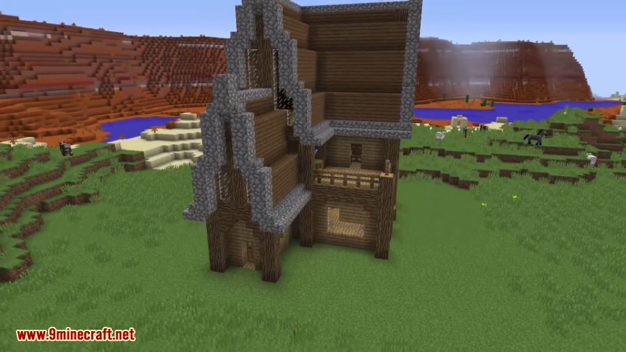 Self Building House Command Block 1 11 2