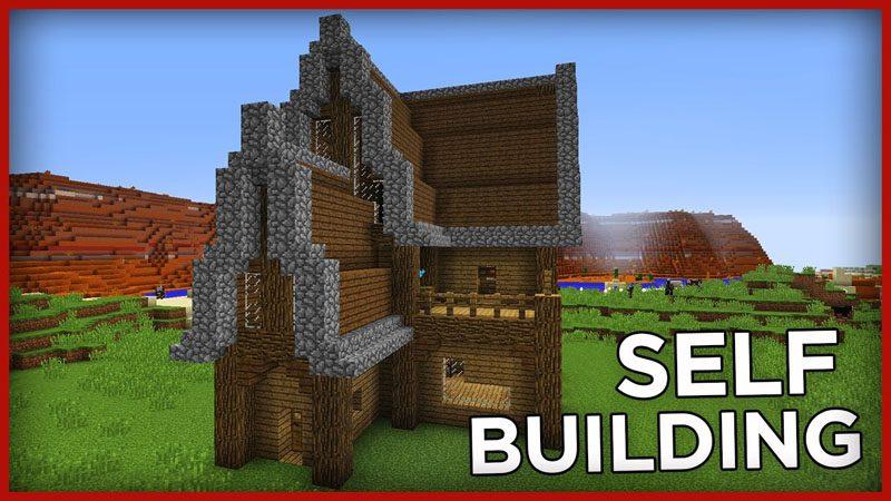 Self Building House Command Block