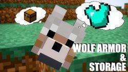 Wolf Armor & Storage Mod