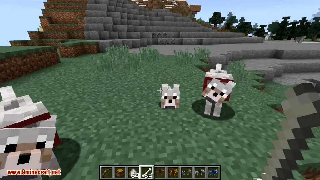 Wolf Armor & Storage Mod Screenshots 1