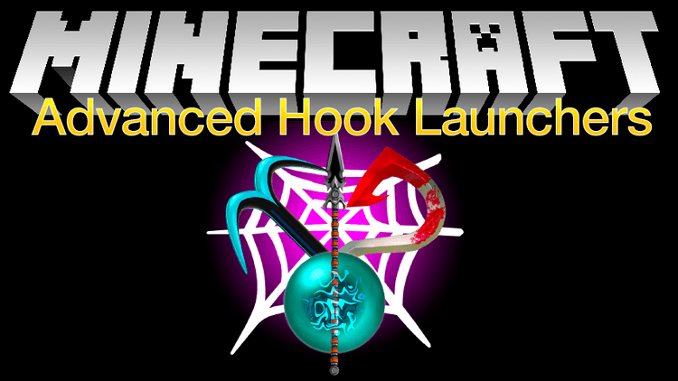 Advanced Hook Launchers Mod 1.11.2/1.10.2