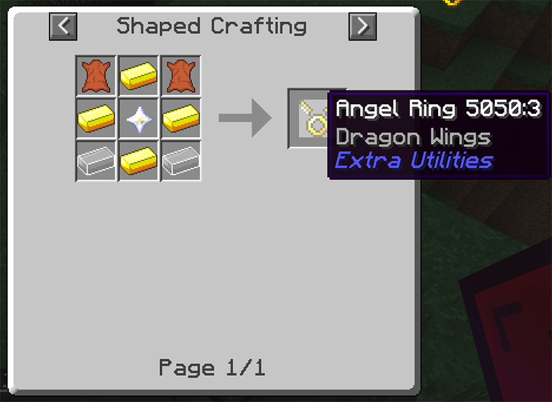 Angel Ring to Baubles Mod 2