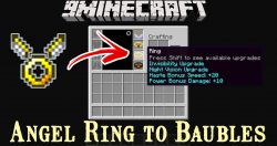 Angel Ring to Baubles Mod