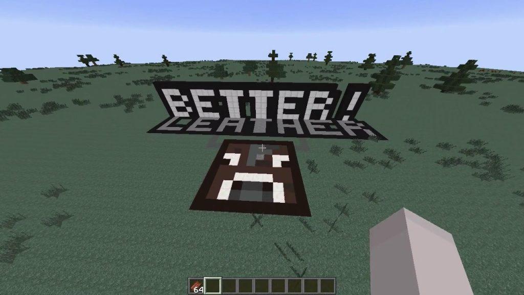 BetterLeather Mod 1.8/1.7.10
