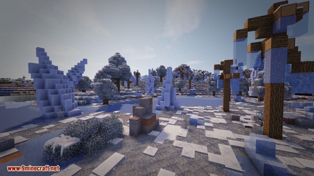 Biome Bundle Mod Frozen Forest