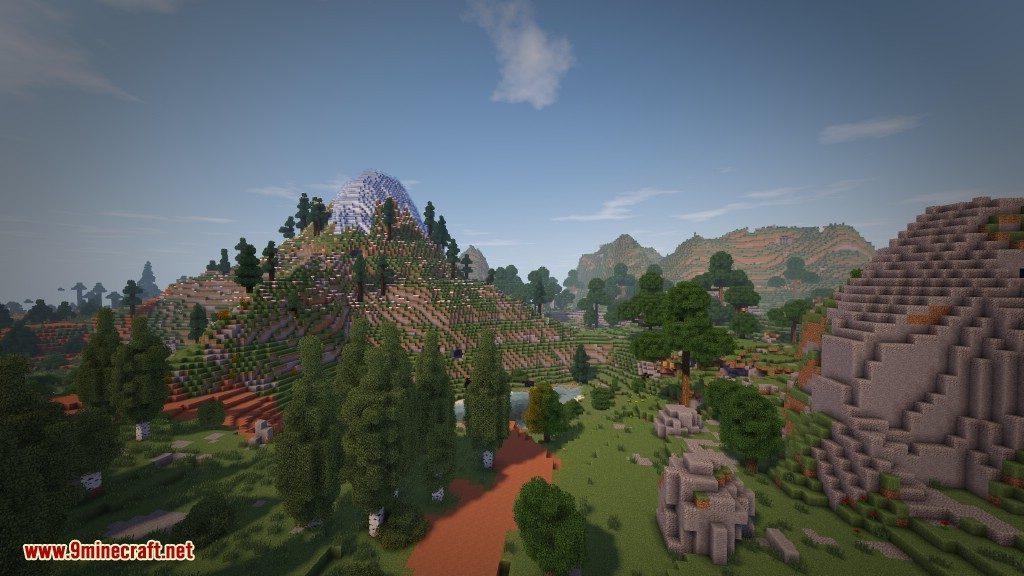 Biome Bundle Mod Random mountain between biomes