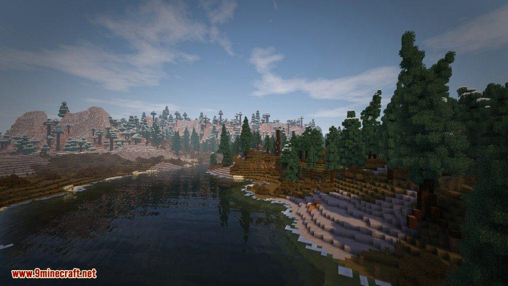 Biome Bundle Mod Tundra