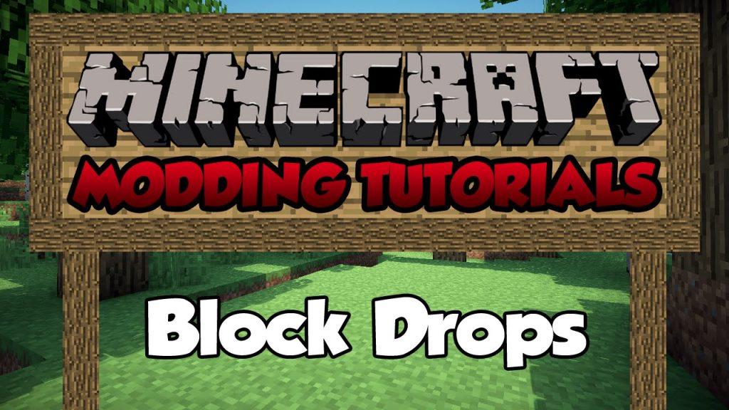 Block Drops Mod 1.11.2/1.10.2
