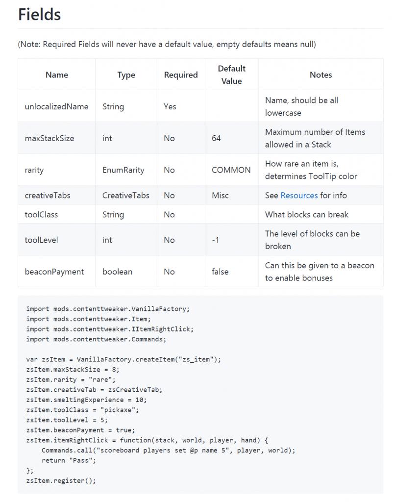 ContentTweaker Mod Wiki 2