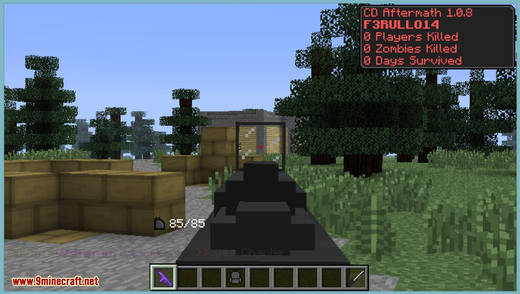 Minecraft   Crafting Dead Mod
