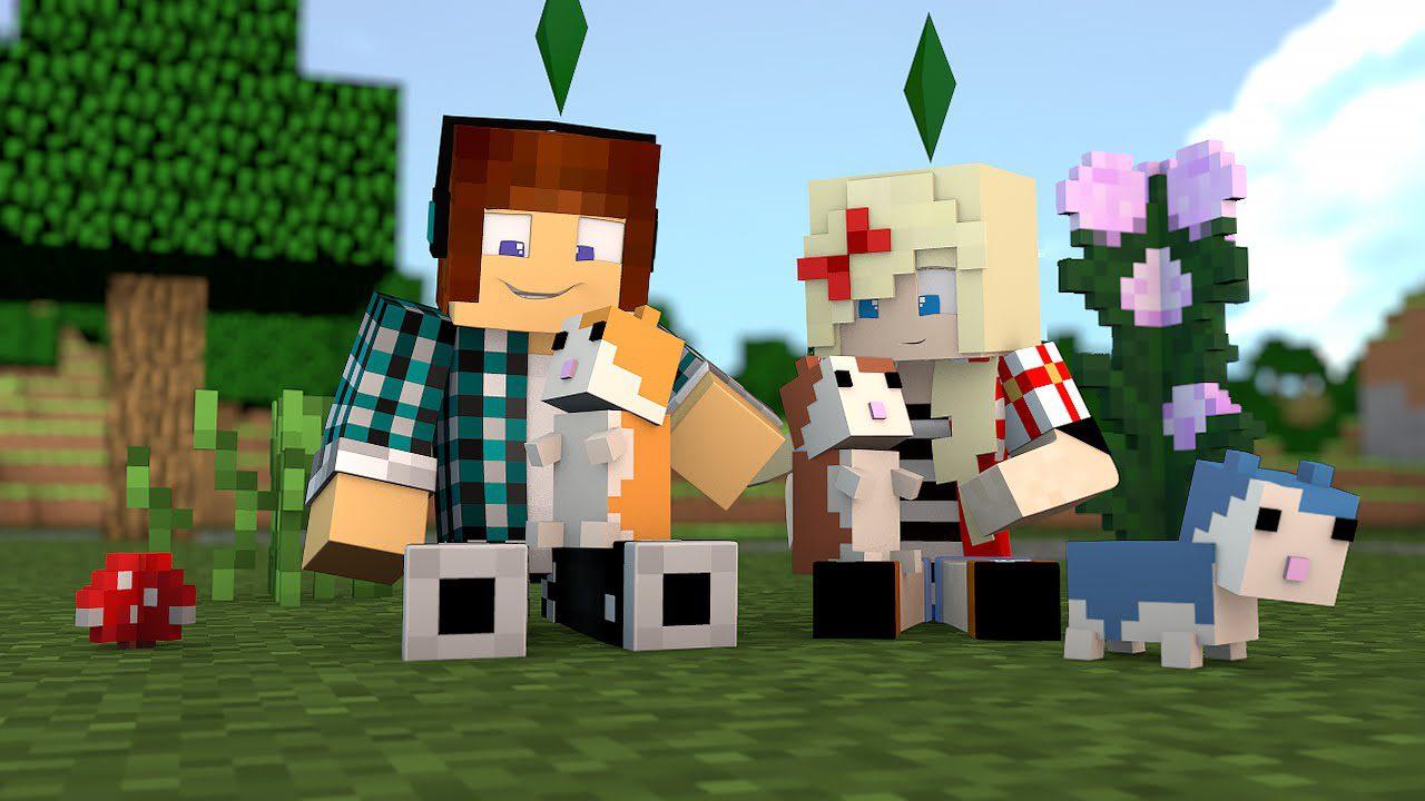 Cute Hamsters Mod Pet Hamsters MinecraftNet - Skin para minecraft pe do authenticgames