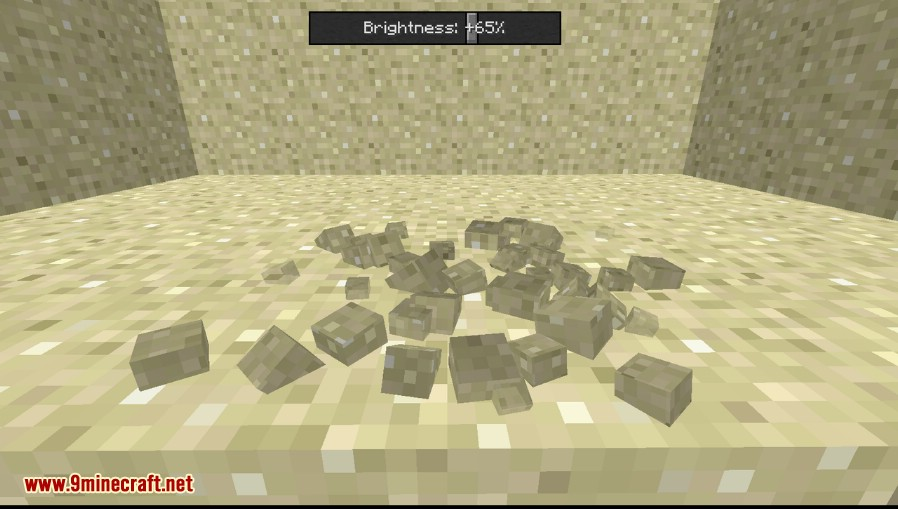 Fancy Block Particles Mod 1 12 2/1 11 2 (3D Break Particles