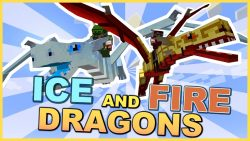 Ice and Fire Mod Logo