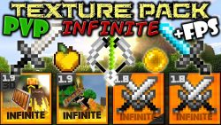 Infinite 3D PVP Resource Pack Logo