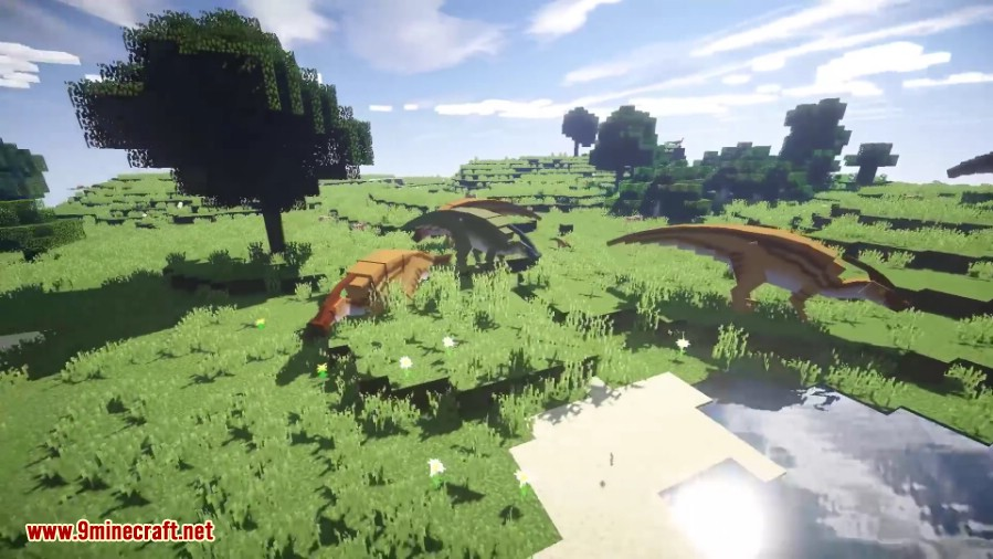 JurassiCraft Mod Screenshots 1