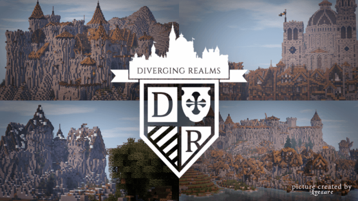 LOROTH – Diverging Realms Ressource Pack 1.11.2/1.10.2