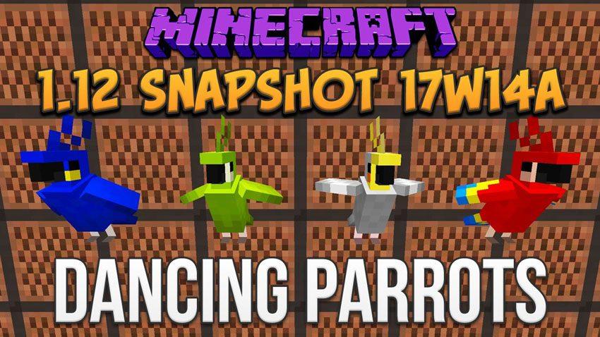 Minecraft 1.12 Snapshot 17w14a