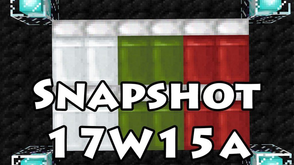 Minecraft 1.12 Snapshot 17w15a