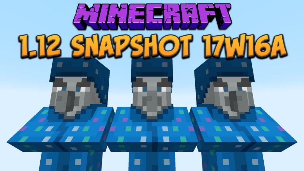 Minecraft 1.12 Snapshot 17w16a