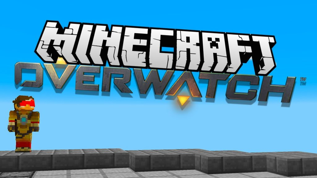 Minewatch Mod Overwatch Characters And Weapons - Skins fur minecraft 1 12 2