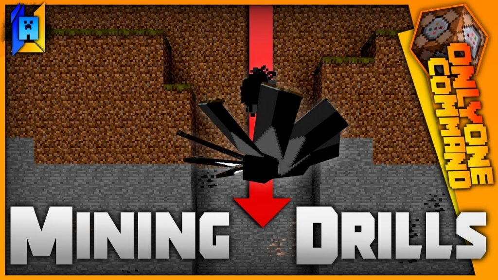 Mining Drills Command Block