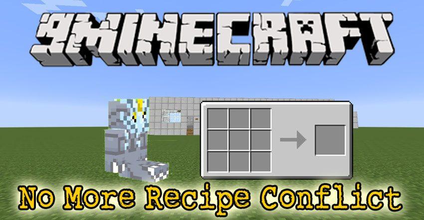 No More Recipe Conflict Mod