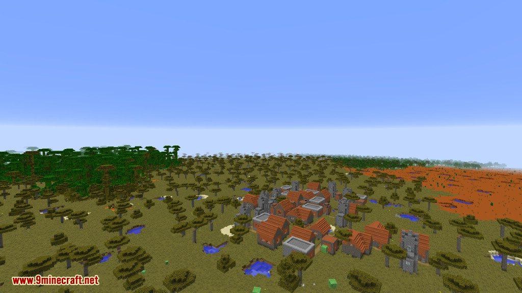 Open Terrain Generator Flatlands Mod 1
