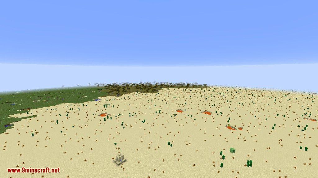 Open Terrain Generator Flatlands Mod 3