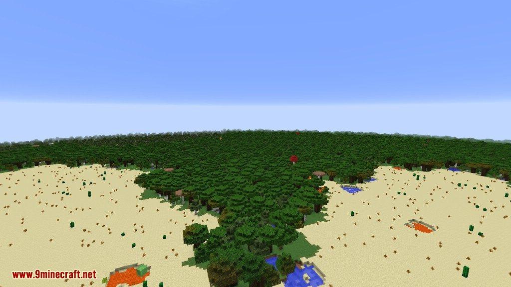 Open Terrain Generator Flatlands Mod 7