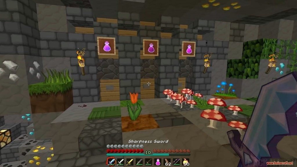 Sphax Animated PvP Resource Pack Screenshots 13