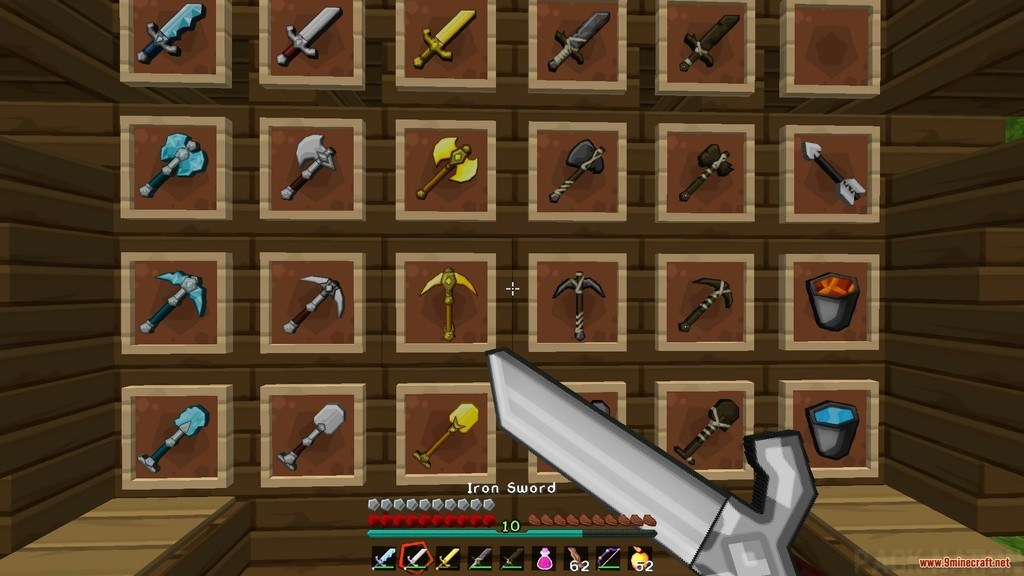 Sphax Animated PvP Resource Pack Screenshots 2