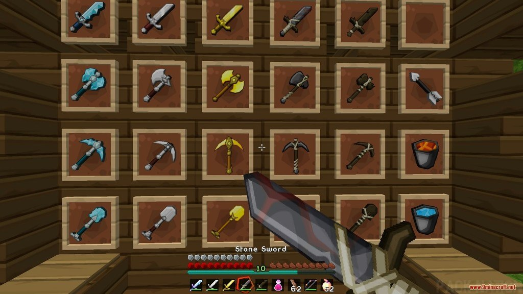 Sphax Animated PvP Resource Pack Screenshots 4