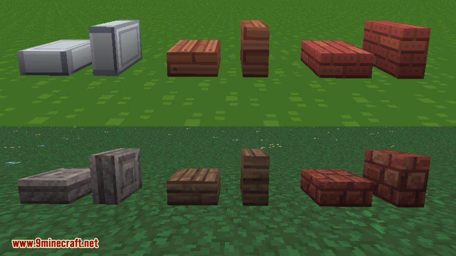 Vertical Slabs Mod 3