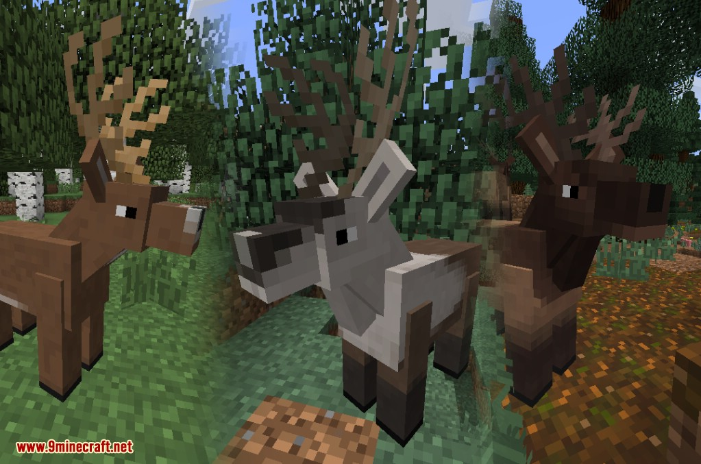 Minecraft Farm Animals Mod | Crafting