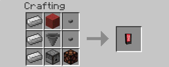 Wizard's Vending Machine Mod Crafting Recipes 2