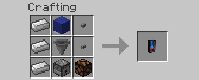 Wizard's Vending Machine Mod Crafting Recipes 3