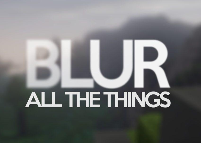Blur Mod