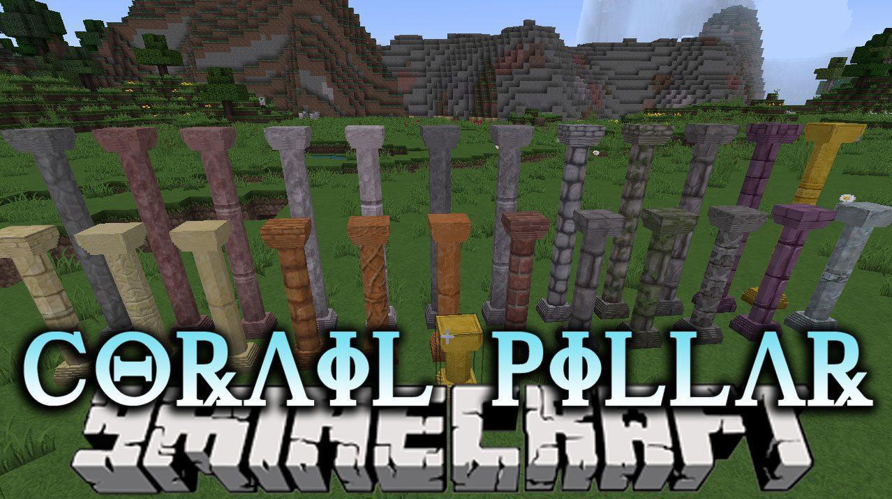 Corail Pillar Mod 1.11.2/1.10.2
